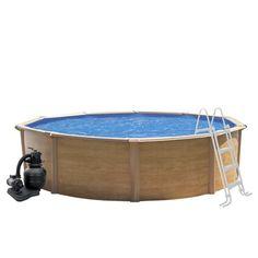 Kit piscine hors sol Canyon, TRIGANO, diam. 3.9 m