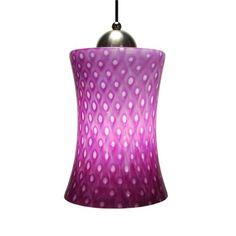 Aptos Orchid Hourglass Mini Pendant