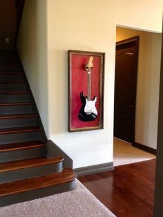 gFrames.com - custom guitar display case