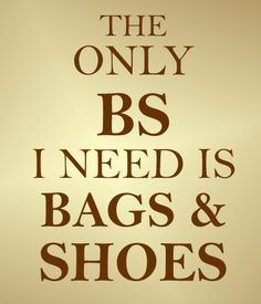 Anyone need some BS today? Head over to see our new #shoes