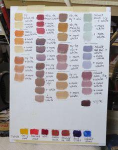 Resultado de imagen de sargent color palette