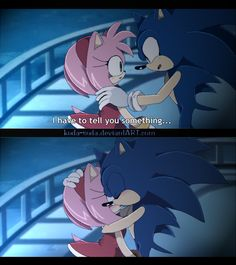 Sonic has something to say... X3