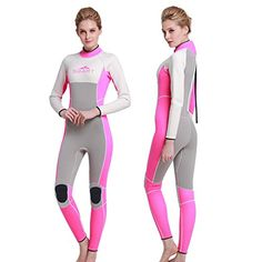 Ladies winter warm swimming diving neoprene padded long sleeve one-piece swimsuits snorkeling male jellyfish suit -- Awesome products selected by Anna Churchill
