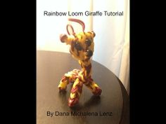 Rainbow Loom Giraffe Tutorial - YouTube