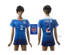 http://www.xjersey.com/201516-usa-yedlin-independence-day-women-away-jersey.html Only$35.00 2015-16 USA YEDLIN INDEPENDENCE DAY WOMEN AWAY JERSEY #Free #Shipping!