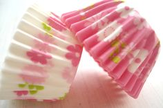 Cute springy cupcake papers!