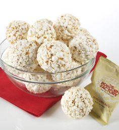 Old-fashioned popcorn balls recipe (1950) - Click Americana