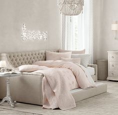 Devyn Tufted Upholstered Daybed with Trundle