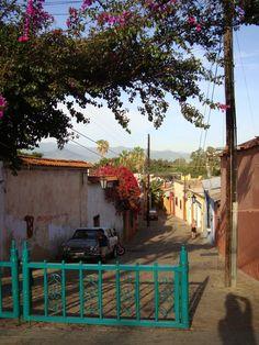 Oaxaca, Oaxaca, México. Een georganiseerde rondreis Mexico met manlief in 2003. De woonplaats van ons geweldige gids Susan