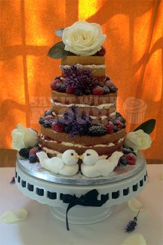 I like the idea of sugar frosted fruit... integrated with lace