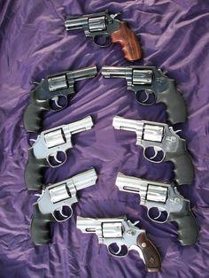 Revolvers.