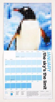 Pentagram Unveils PANTONE 2013 Calendars - DesignTAXI.com