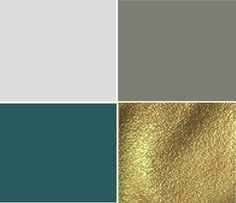 Color scheme for new office/guest room - Dark teal, charcoal gray, gold accents sub teeal for royal blue and add fuschia..jewel tones for library