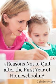 Did you just finish your first year of homeschooling? Feel conflicted about doing it again? You aren't alone. Here are my thoughts on why you shouldn't quit after the first year of homeschooling.