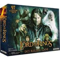 Dice-building comes to Middle-earth! In The Lord of the Rings Dice Building Game, which uses the dice-building game engine from Quarriors, players lead an army of brave men, wise elves, battle-hardened dwarves, and even the short-statured but stout-hearted hobbits – represented by custom dice – to stand ...