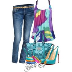 feel fresh and colorful and stand out looking fabulous