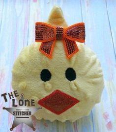 Chick Head Stuffie