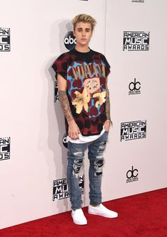 Pin for Later: Seht alle Stars bei den American Music Awards! Justin Bieber