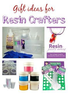 Ideas in a variety of price ranges for the resin crafter on your gift list