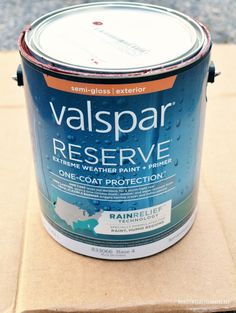 Window Dressing for the Potting Shed: DIY Board and Batten Shutters One Coat Paint, Board And Batten Shutters, Weathered Paint, Paint Primer, Outdoor Paint, Potting Sheds, Valspar, Window Dressings, Extreme Weather
