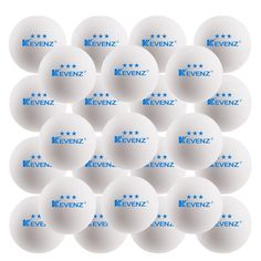 KEVENZ 50 Pack 3 Star 40mm Orange Table Tennis Balls,Advanced Ping Pong