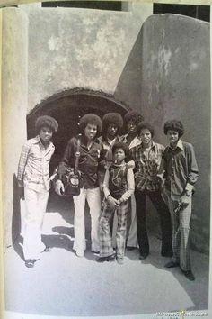 The Jackson 5 arrivent en Afrique - Le 29 janvier 1974