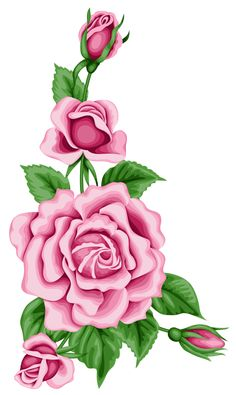 Roses Decoration PNG Clipart Image