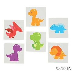 Planning a dinosaur birthday party? Add these Little Dino Tattoos to favor bags for your party guests to take home, or set up a tattoo booth as a fun party ...