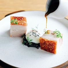 Pressed roasted pork belly with duxelles, sous vide egg & pork jus by - @willgoz ・・・ Want your work to get featured as well? Simply tag your best pictures with #armyofchefs ------------------------ #armyofchefs #food #foodie #foodart #foodpic #foodphoto #foodphotography #foodphotographer #instafood #instagourmet #gastrogram #gourmet #gastronomy #foodporn #foodism #foodgasm #plating #f52grams #vsco_food #simplisticfood #wemakefoodgreatagain #pork #egg# sous-vide