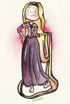 Rapunzel by Malipi