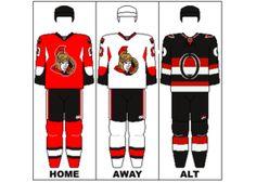 Ottawa Senators Jerseys