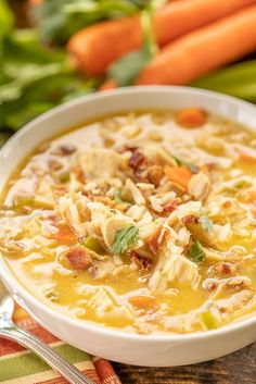 Easy Soup Recipes, Chicken Recipes, Healthy Recipes, Healthy Soups, Healthy Fruits, Brunch Recipes, Chicken Rice Soup, Crack Chicken, Italian Chicken Soup
