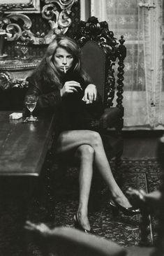 Charlotte Rampling by Helmut Newton, 1973