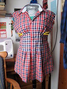 How to make a button-up dress. Button Up Dress - Step 8