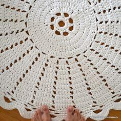 A crocheted rug / virkattu matto