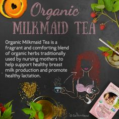Blended with traditional herbal galactagogues like organic Fennel seed and mineral packed herbs, Organic Milkmaid Tea helps keep breast milk flowing from happy mama to hungry baby.