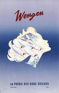 New Acquisitions - Galerie 123 - Original Vintage Posters Original Vintage, Vintage Art, Costume Sports, Vintage Ski Posters, Tourism Poster, Retro Illustration, Winter Scenes, Skiing, Wengen Switzerland