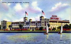 The Hotel Mayfair - Sanford Florida 1944