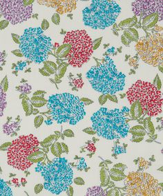 """Looking for a beautiful colouring book? THE LIBERTY COLOURING BOOK features iconic fabric patterns like """"Freya""""."""