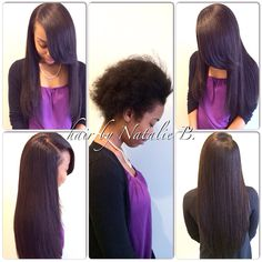 Long hair don't care! FLAWLESS SEW-IN HAIR WEAVES by Natalie B. (708) 675-9351...IG: @icartistry ---www.naturalgirlhair.com