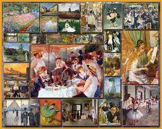 Impressionist Fine Art Jigsaw Puzzle-White Mountain Puzzles