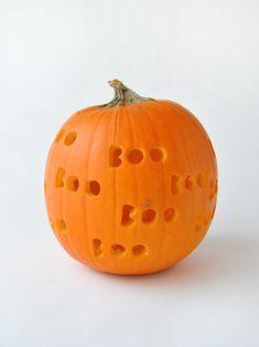 DIY Spooky Drilled Pumpkins   Handmade Charlotte