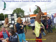 Towersey Village Folk Festival, 2012 - Celtic Connections, Ancient Rituals, Festivals, Irish folk theatre, mummers, masks, myth
