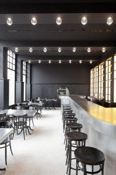 Volkshaus Basel Bar and Brasserie by Herzog & de Meuron // Switzerland