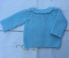 Tricot Baby, Knit Baby Sweaters, Baby Cardigan, Baby Knitting, Pullover, Sewing, Quilts, Pattern, Blog