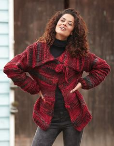 Book Woman Sport 83 Autumn / Winter | 1: Woman Jacket | Black-Fuchsia