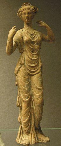 Aphrodite from Myrina, Asia Minor, 1st century A.D.