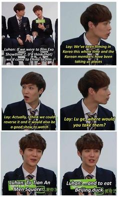 How we wish you and Kris could still be there at EXO Showtime Season Two.