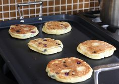 The Perfect Homemade Blueberry Pancakes My attempted breakfast......... here we go