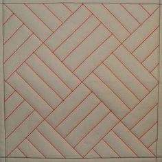 Tutorial on 9 DSM quilting MQ1 Straight Line Grid:
